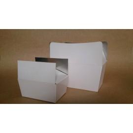 Witte Ballotin 125 gr (Zilver binnenzijde)