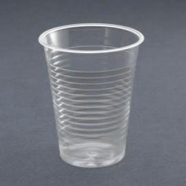 Gobelet 180 cc en plastique transparent