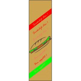 Certificat alim. Sandwich, Snack 1/2 baguette, ECO (Art. Ref: 121E, 122E, 126E)